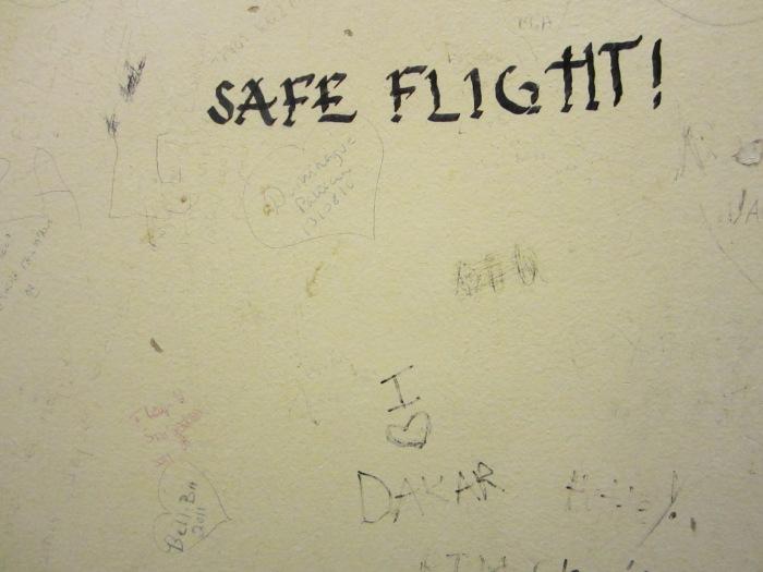 """""""safe flight"""""""